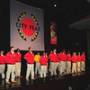 City Year Corps Members on stage - Opening Ceremonies<br /> National Leadership Conference and Summit<br /> Photo: Jennifer Cogswell