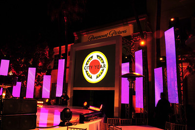 Paramount Pictures hosted a grand evening for City Year in Los Angeles at the National Leadership Summit 2010. Photo © 2010 Jennifer Cogswell