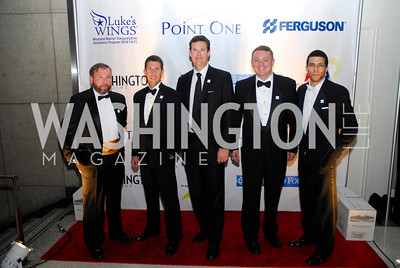 Pete Waters,Berkeley Jeffers,Fletcher Gill,Matt Mackomal,Lawrence O'NeilNovember 11,2011,Luke's Wings Gala,Kyle Samperton
