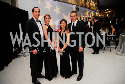 Phil Tonucci,Sarah Conant,Amy Larkin,Brice Long,November 11,2011,Luke's Wings Gala,Kyle Samperton
