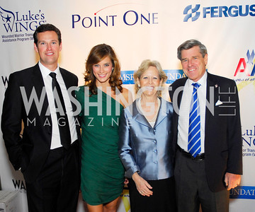Fletcher Gill,Lindsay Kin,Frances Bremer,Paul Bremer,November 11,2011,Luke's Wings Gala