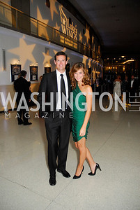 Fletcher Gill,Lindsay Kin.November 11,2011,Luke's Wings Gala,Kyle Samperton
