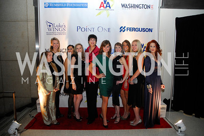 Sandye BlalockT,yler Smith,Donna Donella,Mackenzie Miles,Jane Hess Collins,Lindsay  Kin,Natalie Johnston,Lindsay Greer ,Suzette Manduley,November 11,2011,Luke's Wings Gala,Kyle Samperton