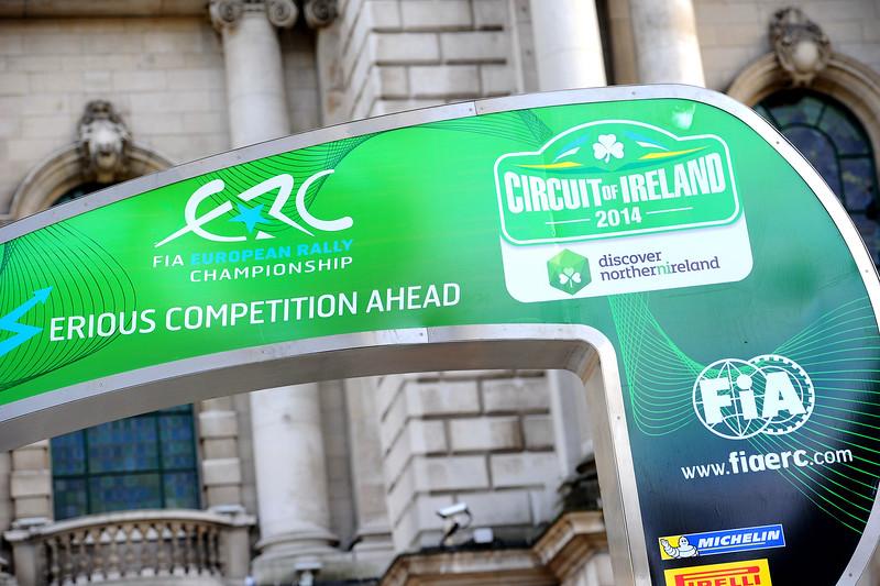 AUTO - ERC IRELAND RALLY 2014