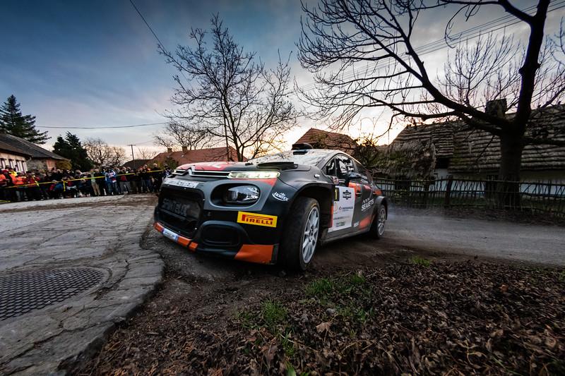 ERC Rally Hungary 2020