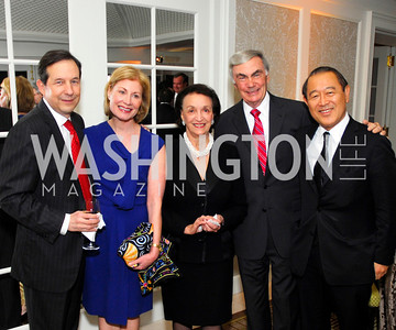 Chris Wallace,Lorraine Wallace,Lucky Poosevelt,Sam Donaldson,Ichiro Fujisaki, November 14,2011,MPAA Salute to Ronald Reagan,Kyle Samperton