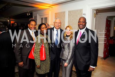 Clark Kirby,Sophia Kirby,Colin Powell,Regina Willson,Harry Johnson, November 14,2011,MPAA Salute to Ronald Reagan,Kyle Samperton
