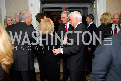 Mary Margaret Valenti, Sam Donaldson,Chris Dodd, November 14,2011,MPAA Salute to Ronald Reagan,Kyle Samperton