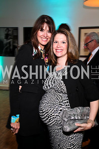 Lynly Boor, Bianca Grimaldi. Photo by Tony Powell. MPAA WHCD VIP Party. April 29, 2011