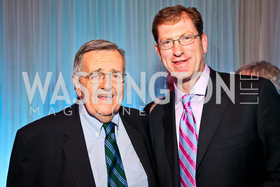 Mark Shields, Peter Roberson. Photo by Tony Powell. MPAA WHCD VIP Party. April 29, 2011