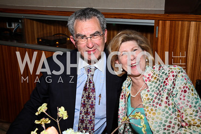 Dr. David Reines and Nina Totenberg. Photo by Tony Powell. MPAA WHCD VIP Party. April 29, 2011