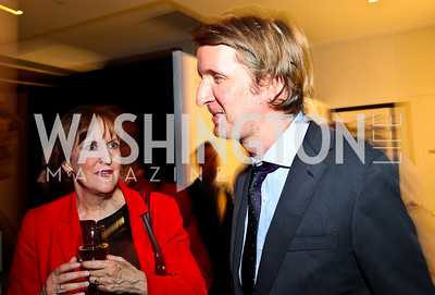"Karen Tumulty, ""The King's Speech"" director Tom Hooper. Photo by Tony Powell. MPAA WHCD VIP Party. April 29, 2011"