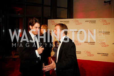 Louis Burgdorf, Chuck Todd, MSNBC WHCD After Party, April 30, 2011, Kyle Samperton