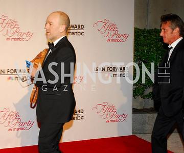 Michael Stipe, Sean Penn, MSNBC WHCD After Party, April 30, 2011, Kyle Samperton