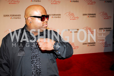 Cee Lo Green, MSNBC WHCD After Party, April 30, 2011, Kyle Samperton