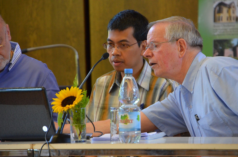 Fr. Heru Ismadi and Fr. John van den Hengel