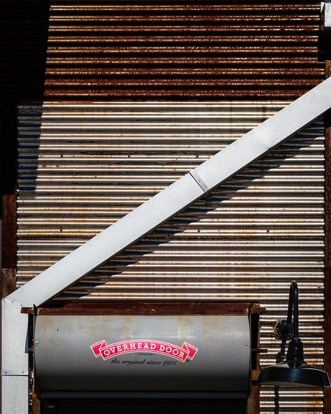 Overhead Door, The Railyard, Santa Fe, New Mexico