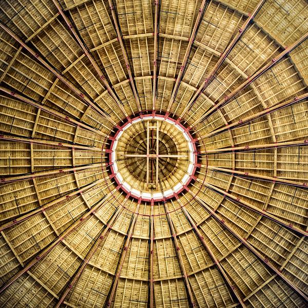 Roundhouse roof detail, Baltimore & Ohio Railroad Museum, 901 West Pratt Street, Baltimore, MD