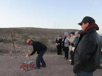 Day 1 began with a sunrise prayer service.