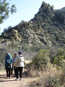our closing picnic at Cochise Stronghold...