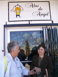 Noehmi Noriega is her clinic partner.