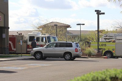 March 19 - Tatum/Cave Creek, Phoenix vacant business Working Fire