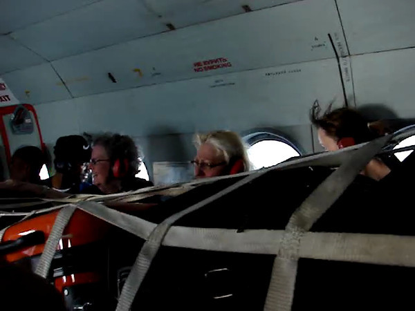 A 2.5-hour helicopter ride from Port-au-Prince to Bombardopolis, which would've taken us at least 8 hours in a vehicle