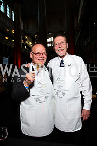 Tennessee Rep. Steve Cohen, Iowa Rep. Dave Loebsack. Photo by Tony Powell. March of Dimes Gourmet Gala. Building Museum. May 4, 2011