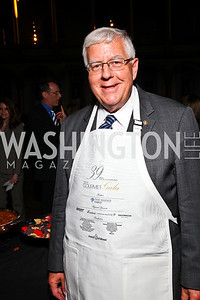 Wyoming Sen. Mike Enzi. Photo by Tony Powell. March of Dimes Gourmet Gala. Building Museum. May 4, 2011
