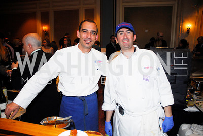 Xavier Deshayes, Lauren Reze,November 16,2011,March of Dimes Signature Chefs Auction,Kyle Samperton