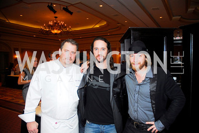 Robert Wiedmaier, Micah Wilder, Joe Remuzzi, March of Dimes Signature Chefs Auction,November 16,2011,Kyle Samperton