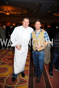 Robert Wiedmaier,Des Reilly,November 16,2011,March of Dimes Signature Chefs Auction,Kyle Samperton