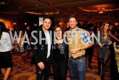 Patrick Osuna,Gina Dakouni,Des Reilly,November 16,2011,March of Dimes Signature Chefs Auction,Kyle Samperton