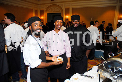 Steven Hughes,Karida Celestine,Tyrone Taylor,November 16,2011,March of Dimes Signature Chefs Auction,Kyle Samperton