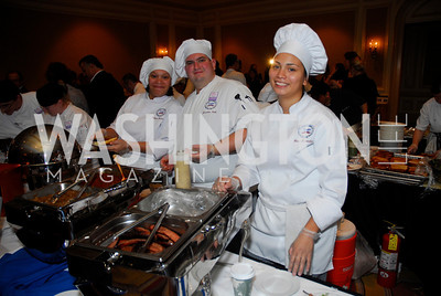 Rafiyqa Dunnavant,Jonathan Babb,Yanci Fernandez,November 16,2011,March of Dimes Signature Chefs Auction,Kyle Samperton
