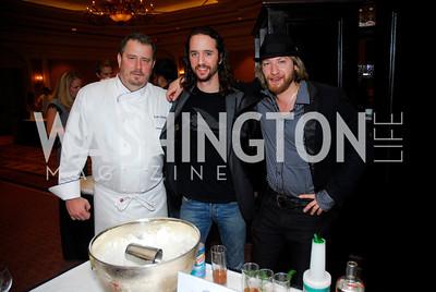 Robert Wiedmaier, Micah Wilder, Joe Remuzzi, March of Dimes Signature Chefs Auction,November 16,2011,Kyle Samperton