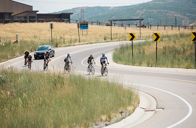 2016 Smartwool Ride to OR Steamboat Springs, CO - Park City, UT, with the finish at the Center of Excellence, Park City Photo: U.S. Ski Team