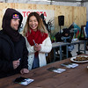 Chloe Kim and Louie Vito autograph signing<br /> Partner Village<br /> 2017 Toyota U.S. Grand Prix - Mammoth Mountain, CA<br /> Photo: U.S. Freeskiing