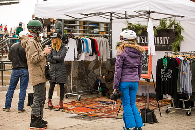 Partner Village 2017 Audi FIS Ski World Cup in Squaw Valley, CA Photo © Stephanie Hines