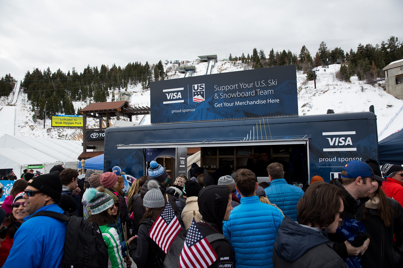 Partner Village 2017 Olympic Trials Nordic Combined and Ski Jumping at the UOP Photo: U.S. Ski & Snowboard