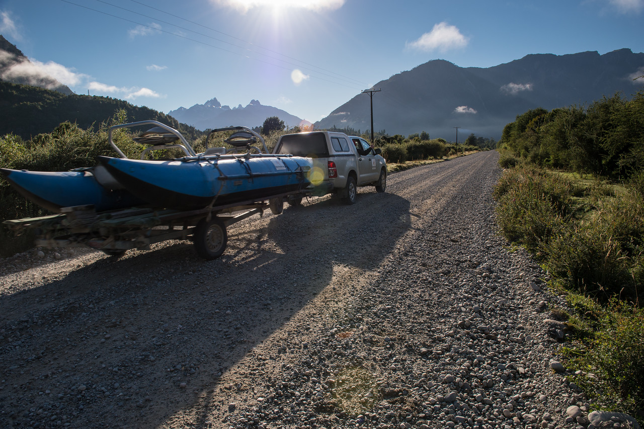 Fly fishing Martin Pescador Lodge and the Yelcho-Chaiten Region of Patagonian Chile – © Jim Klug Outdoor Photography