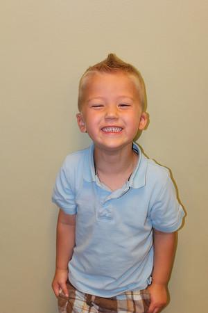Zach Preschool Graduation