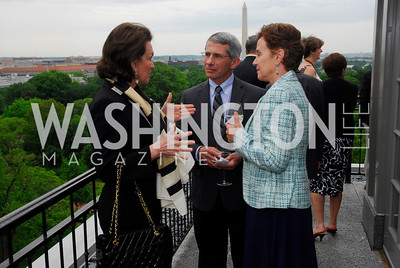 Grace Bender, Anthony Faucci, Christine Grady, McLaughlin/Reuters Brunch at the Hay-Adams, May 1, 2011, Kyle Samperton