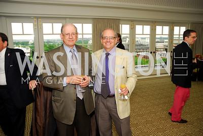 Bob Kahn, Norm Orenstein, McLaughlin/Reuters Brunch at the Hay-Adams, May 1, 2011, Kyle Samperton