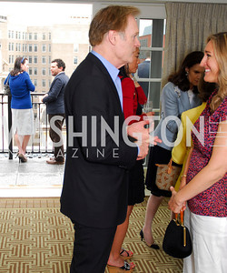 Lawrence O'Donnell, Allison Butler, McLaughlin/Reuters Brunch at the Hay-Adams, May 1, 2011, Kyle Samperton