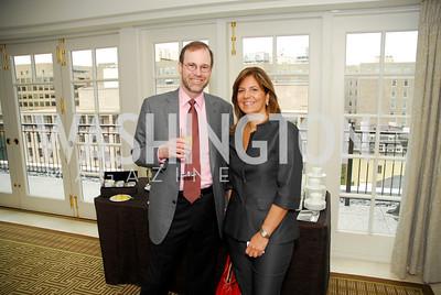 Stephen Adler, Susan Mercan Detti, McLaughlin/Reuters Brunch at the Hay-Adams, May 1, 2011, Kyle Samperton