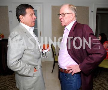 George Karalekas, John McLaughlin, McLaughlin/Reuters Brunch at the Hay-Adams, May 1, 2011, Kyle Samperton