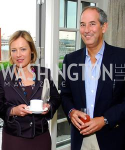 Gillian Tett, Tom Glover, McLaughlin/Reuters Brunch at the Hay-Adams, May 1, 2011, Kyle Samperton