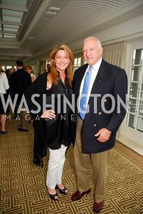 Mary Amons, Bob Schmidt, McLaughlin/Reuters Brunch at the Hay-Adams, May 1, 2011, Kyle Samperton