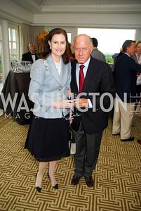 Alexandra de Borchgrave, Arnaud de Borchgrave, McLaughlin/Reuters Brunch at the Hay-Adams, May 1, 2011, Kyle Samperton